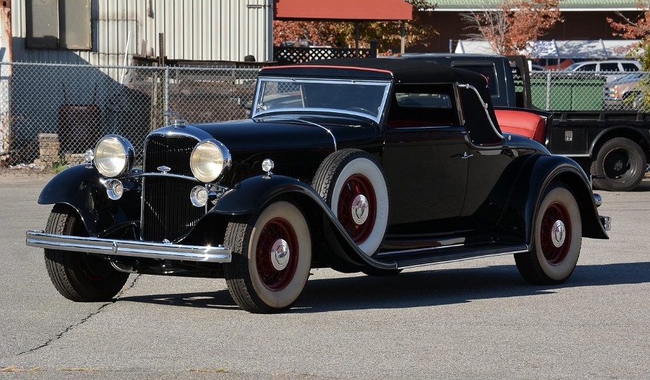 1932 Lincoln KB V-12 Coupe Roadster by LeBaron for sale - Vintage ...